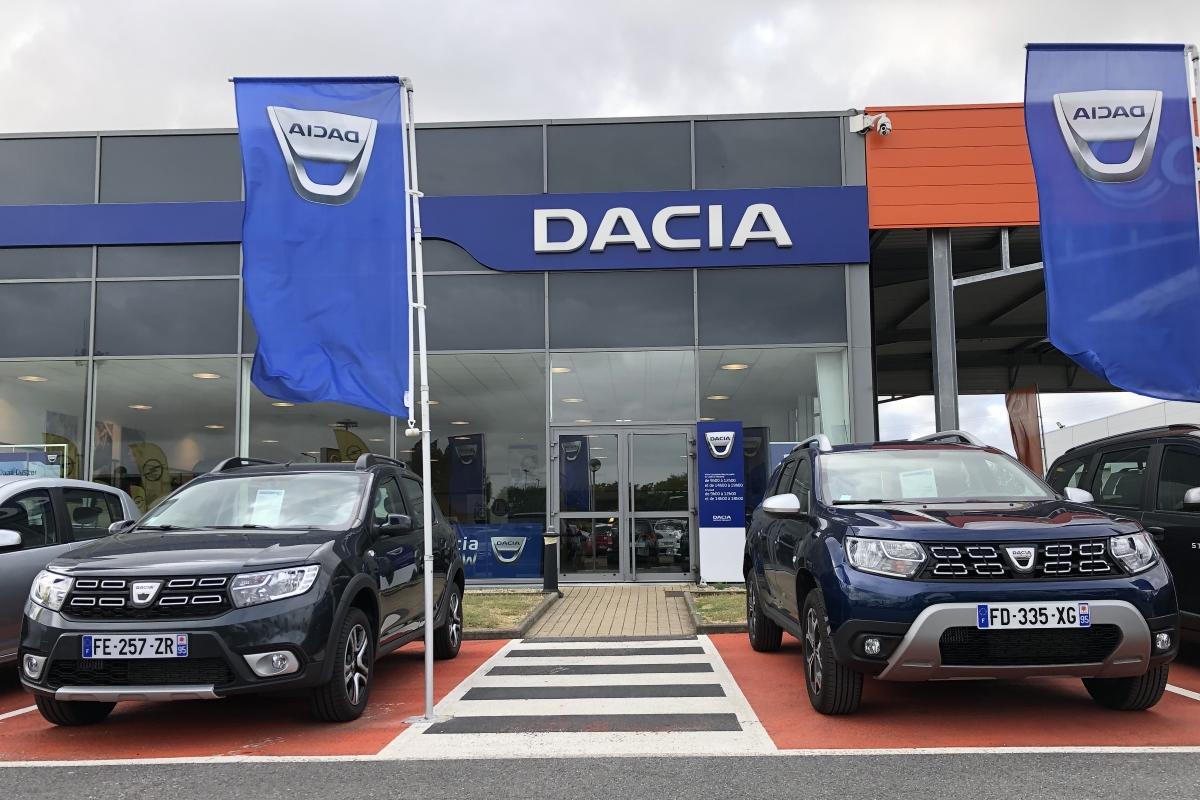 Dacia Box Cite de l'Auto Saint Ouen l'Aumône